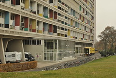 Unite d'habitation, Berlin (J@ck!) Tags: berlin modernism lecorbusier unitedhabitation socialhousing