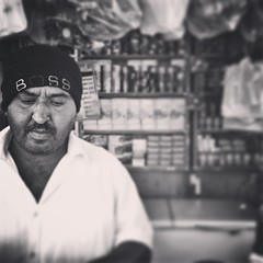 The Boss (Laithmatic) Tags: boss blackandwhite bw portraits work noir streetphotography bandw bnw bwbeauty iphoneography streetphotobw iphoneonly bwlover