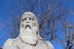 Stone Statue (Been Around) Tags: travel winter statue stone europa europe travellers eu bulgaria stonestatue februar velikotarnovo bulgarien velikoturnovo 2013  img9864 concordians thisphotorocks worldtrekker visipix welikotarnowo velikoturnowo nezavisimostblvd hristokaraminkov ulitsahristokaraminkov