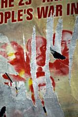 TypoGraphics_Malmo_JWA7236 (jonwaz) Tags: china street lenin red 3 streetart art poster typography graphicdesign three graphics europe comic sweden russia decay politics communist revolution mao marx sverige typo malm deconstruction typographics decollage wsawof revolutionposter jonwaz