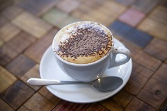 A Cup Of Goodness (Dirk Wallace) Tags: coffee cafe sony australia victoria wodonga grovecafe 2875f28 a850
