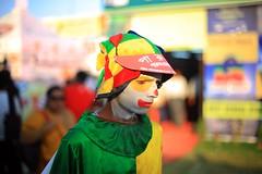 The clown (Rajib Singha) Tags: portrait people india interestingness searchthebest job kolkata profession westbengal canoneos30d flickriver kolkatabookfair
