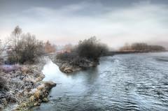 real cold morning..... (Roberto Defilippi) Tags: morning winter cold water river landscape piemonte acqua inverno freddo hdr paesaggio rodeos mattino fiumepo 2013 niksoftware nikond300 photoshopcs6 photomatixpro42 rememberthatmomentlevel1 rememberthatmomentlevel2 robertodefilippi
