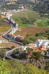 La Calzada Village in northern Gran Canaria (Alex Bramwell) Tags: grancanaria village valley canaryislands barranco lacalzada