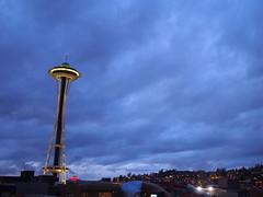 Seattle - Space Needle (tord75) Tags: seattle usa rain washington wa spaceneedle 2013
