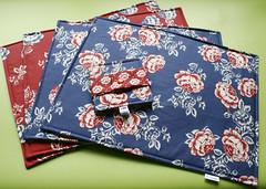 Jogo Americano (Meia Tigela flickr) Tags: flores floral handmade artesanato artesanal craft decorao jogo mesa americano tecido estampado jogoamericano feitoamo