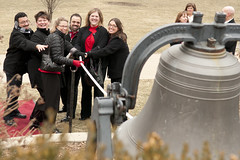 Bell Ringing Ceremony (Alumni at Illinois State) Tags: foundersday patquinn illinoisstateuniversity seanhayes albowman fdstateside