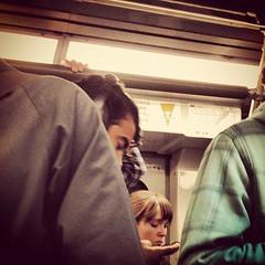 Meanwhile, On Muni (davitydave) Tags: sanfrancisco bus train subway square publictransportation muni squareformat commute commuter rider earlybird trainstalking iphoneography instagramapp uploaded:by=instagram foursquare:venue=4c81302ad92ea093fe7d3e72