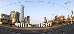 white night (Andrew C Wallace) Tags: panorama festival melbourne stitched whitenight
