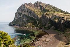 Sunrise Peak (HappyJP) Tags: ocean boat pacific korea eastchinasea jejuisland seongsanilchulbong 1685mm nikond300s