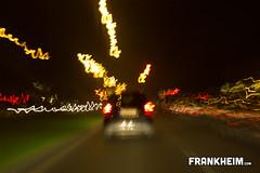 057 Chasing Cars (Frank Heim) Tags: auto street black car night lights nacht strasse schwarz chasing lampen verfolgen