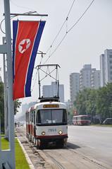 Pyongyang Tram (dan & emily) Tags: bus tram commute commuter commuting publictransport northkorea pyongyang dprk koryo