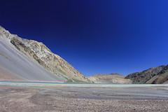 Embalse El yeso (Fabro - Max) Tags: chile mountains water agua andes cerros metropolitana cordillera montañas embalse maipo cajondelmaipo yeso cordilleradelosandes embalseelyeso