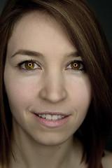 Ringlicht (Godwi_) Tags: portrait portrt ringlight anni ringlicht blinkagain