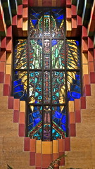 Stained glass in the Guardian building (ellenm1) Tags: building art glass architecture detroit stained deco guardian