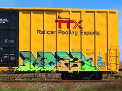Kres (VDub (o\I/o)) Tags: california ca railroad west art up train painting graffiti coast paint pieces pacific fb steel ant union central tracks railway trains tags spray southern railcar bayarea unionpacific spraypaint boxcar panels alb graff piece aerosol tagging freight boxcars lords upac ridged trackside csx freights tfl ttx rbox railart piecing kres railbox railside sopac benching fbox kreser