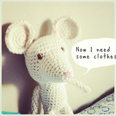 Lista la cara / the face is done. #amigurumi #mouse #crochet #crochetlove #diy #ganchillo #cute #ratn #tejido (~ tilde ~) Tags: square squareformat amaro iphoneography instagramapp uploaded:by=instagram