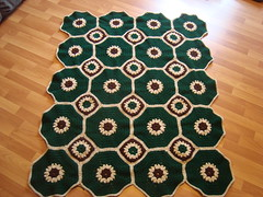 001-1 (The Crochet Crowd) Tags: square spring crochet mikey blanket afghan redheart challenge octagon 2013 freecrochetpattern crochetcrowd octogonsquareafghan
