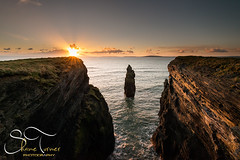 Bromore Cliffs  | Shane Turner Photography Tralee Co. Kerry (Shane M Turner) Tags: ireland sunset sea seascape landscape photography nikon shane ballybunion cliffs turner d800 bromore