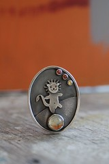 brooch-pendant for Angela (vikafogallery) Tags: