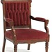 93. Victorian Walnut Parlor Chair