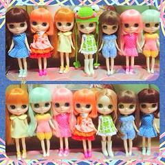 My Middie Girls > Jada,Francesca,Chanice,Georgia,Georgina,Franka and Mika