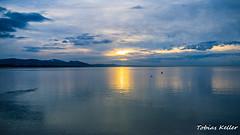 Sonnenuntergang ber dem Bodensee (Tobias Keller) Tags: sterreich voralberg sonnenuntergang bregenz bodensee spiegelung