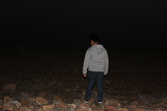 It's Getting Dark... (kumargauraw) Tags: thinking eveningtime lonelyboy gettingdark boythinking