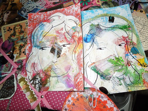 Girlies Paintings on My Inspiration Board