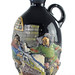 154. German Pottery Decanter