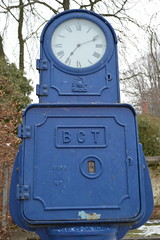 A Bundy Clock in the Arboretum (CoasterMadMatt) Tags: park city uk greatbritain england black west tower english heritage clock march town spring birmingham unitedkingdom britain country transport victorian arboretum clocktower gb british westmidlands bundy walsall midlands parkland bct blackcountry bundyclock 2013 walsallarboretum birminghamcitytransport
