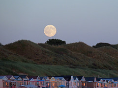 full moon above the dunes (Jacopho) Tags: moon fullmoon dunes dishoek kaapduin