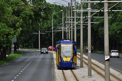 Konstal 805Na #232+233 MZK Toru (3x105Na) Tags: konstal 805na 232233 mzk toru poland polska polen mzktoru tram tramwaj strassenbahn