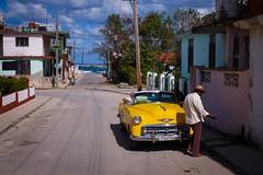 Cuba. Bus Window Shot (4 (H.L.Tam) Tags: documentary cubasketchbook cuban street photodocumentary cuba vintagecar cubantaxi sketchbook streetphotography buswindowshot