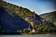 Travelling across Rhein (Vasilis R.) Tags: photography photo photooftheday photographer photos landschaft landscape rheinlandpfalz river castle burg travel nature natur deutschland germany flus view nikonflickraward nikond3300 nikon travelling