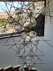 Staircase #fancy #glass #balls #art #modern #lanzarote #staircase #window #view #gallery #structured #focused (laurenbridge12) Tags: fancy glass balls art modern lanzarote staircase window view gallery structured focused