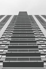 Up (Thread Report) Tags: nyc balconies lights christmaslights random streeetphotography height up tall nikon d5300 threadreport housing