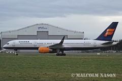 B757-256 TF-FIY GHANA INTERNATIONAL (shanairpic) Tags: jetairliner b757 boeing757 shannon icelandair ghanainternational tffiy