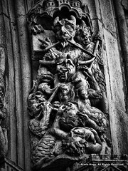 Grotesque (Armin Hage) Tags: grotesque chimera carving demon devil hell romancatholic notredamedeparis notredame frenchgothic paris france arminhage