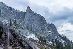 WatchTower (mon_ster67) Tags: mon mon mountain watchtower park canon canoneos canoneosrebelt5i snow rockscape hikingtrail tokopahfallstrail sequoianationalpark