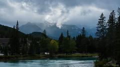 DSC_0234 (Adrian De Lisle) Tags: banff banffnationalpark mountnorquay mist cloudy bowriver