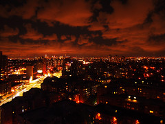 Looking West Towards Manhattan -- Last Night (JFGryphon) Tags: skyline queens manhattan