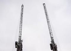 (Esther'90) Tags: london londoncity city citylife cityscape crane sky high citywalk london2016 september building constructions minimalism