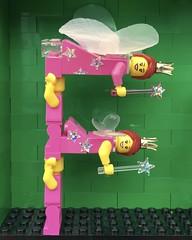 F (Laurene J.) Tags: lego bricksbythebay bbtb2016 minifigurealphabet minifigure minifigs legoalphabet alphabet pilobolusalphabet pilobolus lettering bbtb 2016 bricksofcharacter fairy