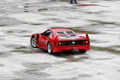 Ferrari F40 (aguswiss1) Tags: ferrarif40 ferrari f40 supercar racecar sportscar dreamcar red redcar ferrarired auto car limited edition limitededition fastcar 200mph 300kmh v8 turbo v8turbo
