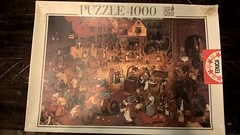 The Fight Between Carnival and Lent, EDUCA, 4000 (fabrofer) Tags: puzzle educa 4000 bruegel fight carnival lent