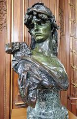 Bellone, by Auguste Rodin, 1879 (Monceau) Tags: musrodin paris bellone rodin sculpture buste