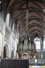 Church of Our Lady organ (quinet) Tags: 2014 belgium bruges churchofourlady kirche orgel church organ organe glise antwerp flanders