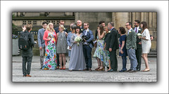 The Wedding Photograph. (Fermat48) Tags: manchester townhall albertsquare wedding photographer bride groom dog weddingguests