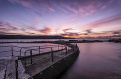 Curvacious (Crouchy69) Tags: sunrise dawn landscape seascape ocean sea water coast clouds sky long exposure malabar rock pool sydney australia
